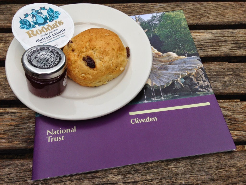National Trust Scone at Cliveden