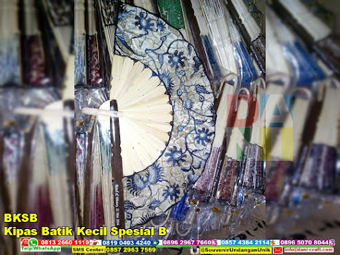 jual Kipas Batik Kecil Spesial B