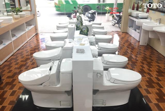 Đại lý bán Thiết bị nhà vệ sinh TOTO Nhật 2019 giá thành rẻ, chính gốc