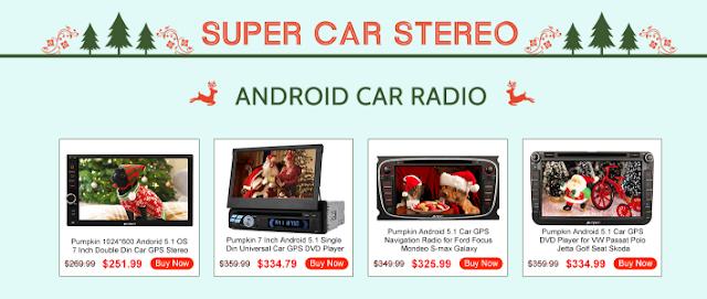 android 5.1 car stereo radio
