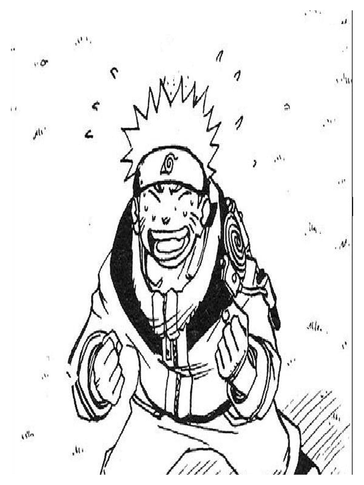 Naruto Coloring Pages Printable