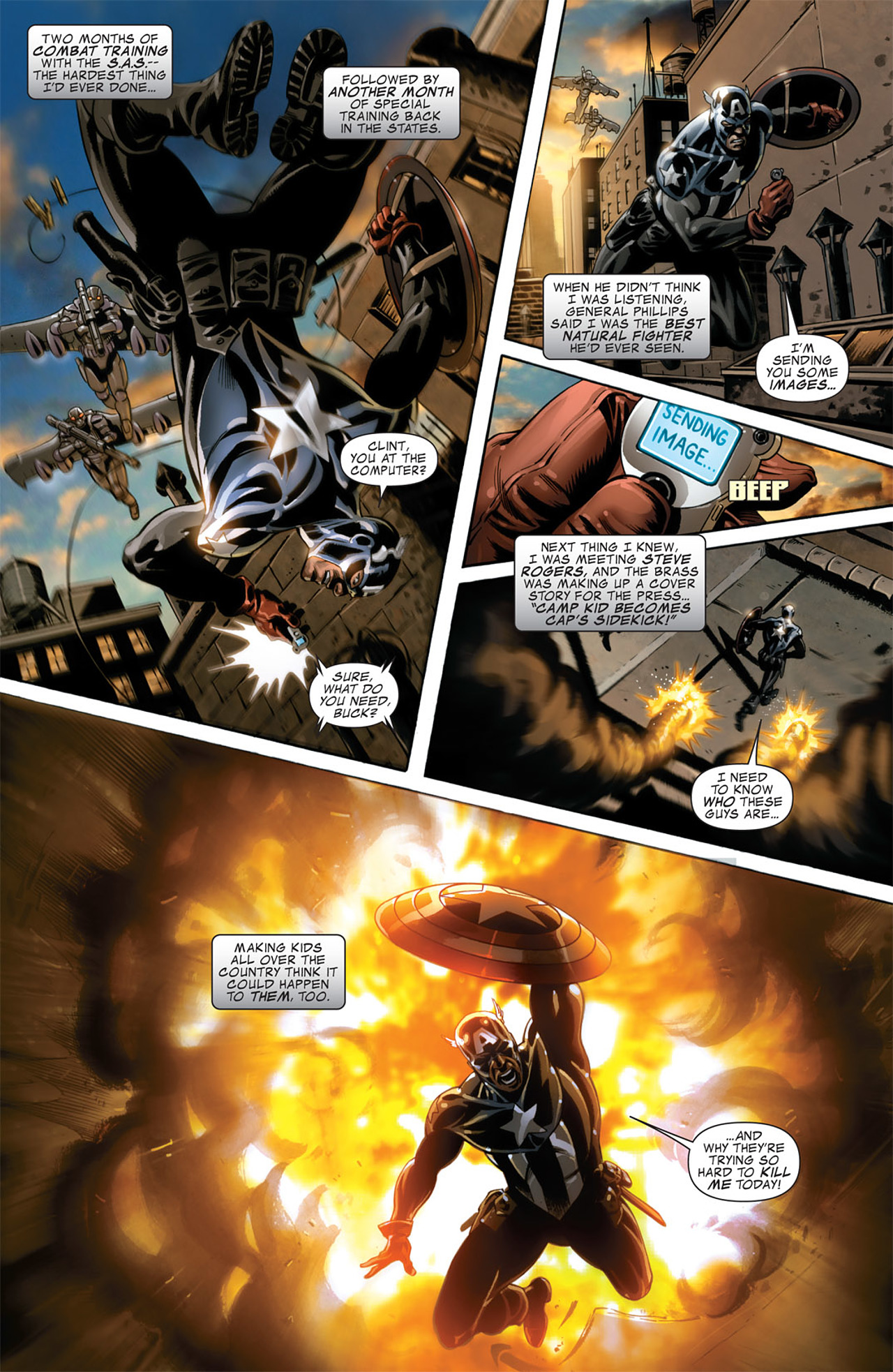 Read online Captain America (2005) comic -  Issue #50 - 9
