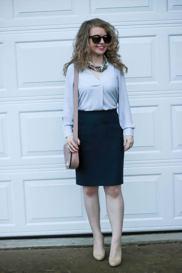 Ann-Taylor-Silky-Wrap-Blouse, Ann-Taylor, Lawyer-Lookbook