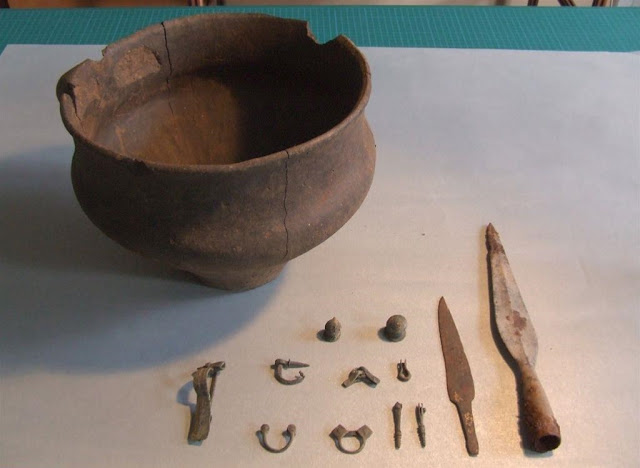Urn grave of warrior from Roman period discovered in West Pomerania