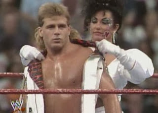 WWF / WWE: WRESTLEMANIA 8 - Shawn Michaels and Sensational Sherri