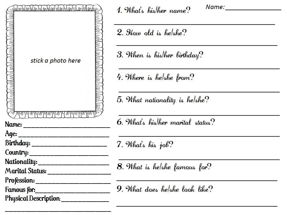Free Fill-In-The-Blank Bio Templates for Writing a Personal or Professional Bio