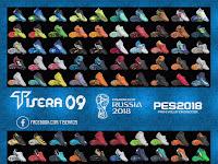 PES 2017/2018 Bootpack WC Russia 2018 dari T09