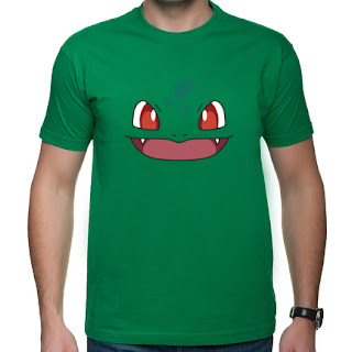 Koszulka Pokemon - Bulba