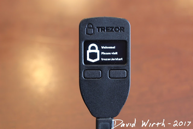 trezor setup, software, menu, website