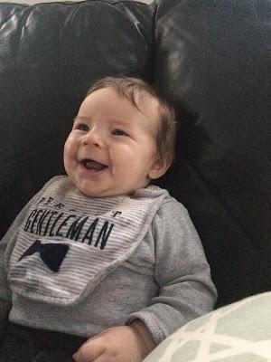 Oliver smiling