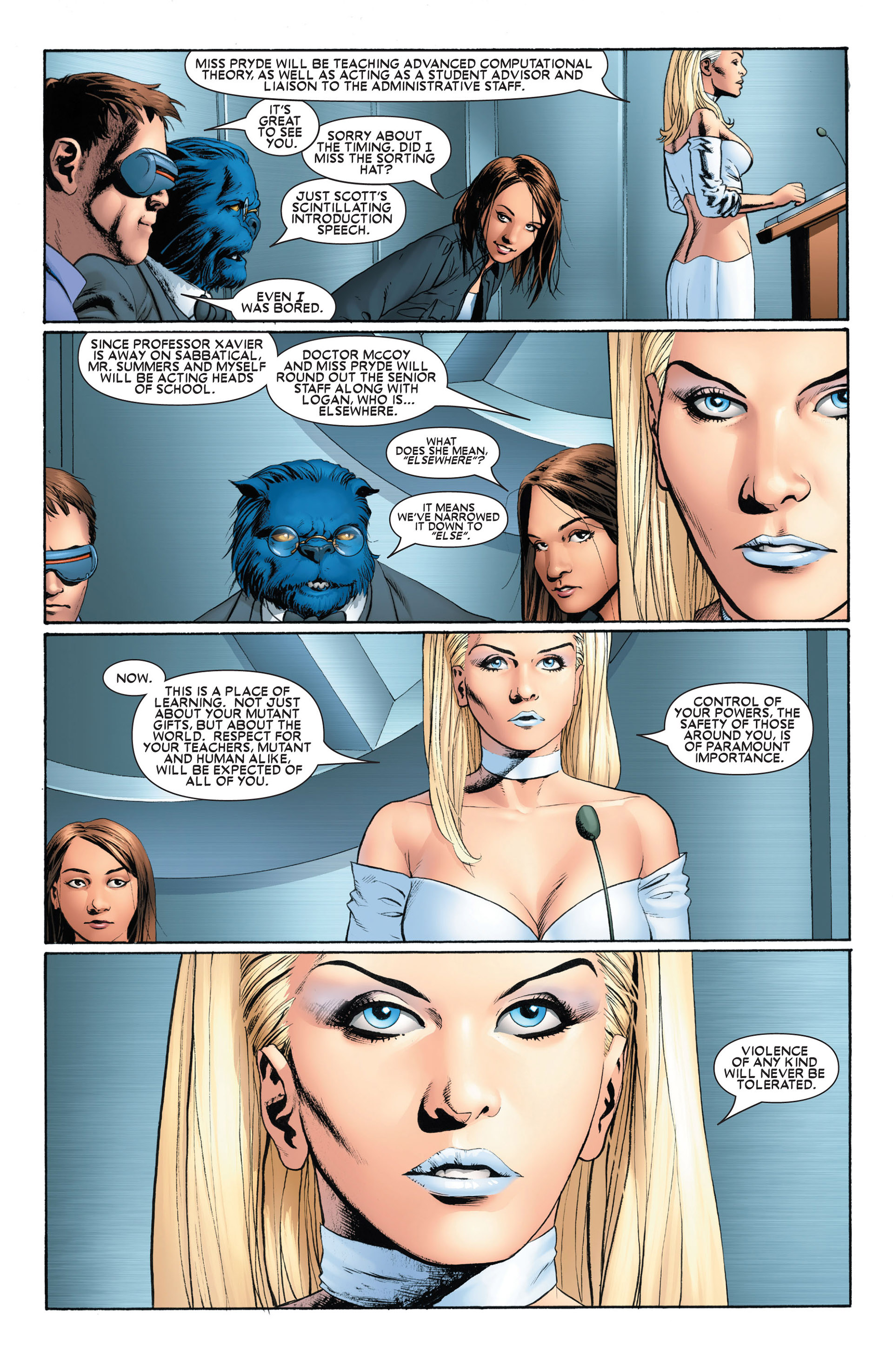 Astonishing X-Men (2004) issue 1 - Page 8