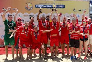 FÚTBOL PLAYA - El Lokomotiv se convierte en el primer equipo que repite título en el Mundialito de Clubes