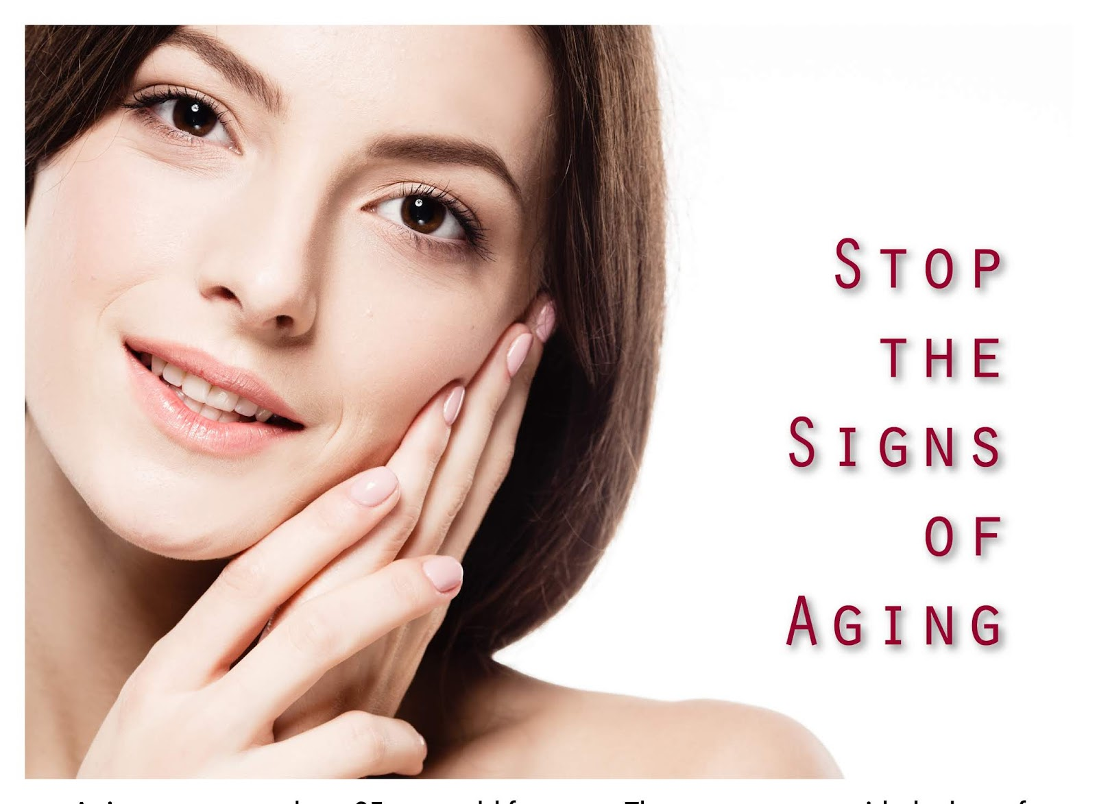 Stopping the Signs of Aging Skin