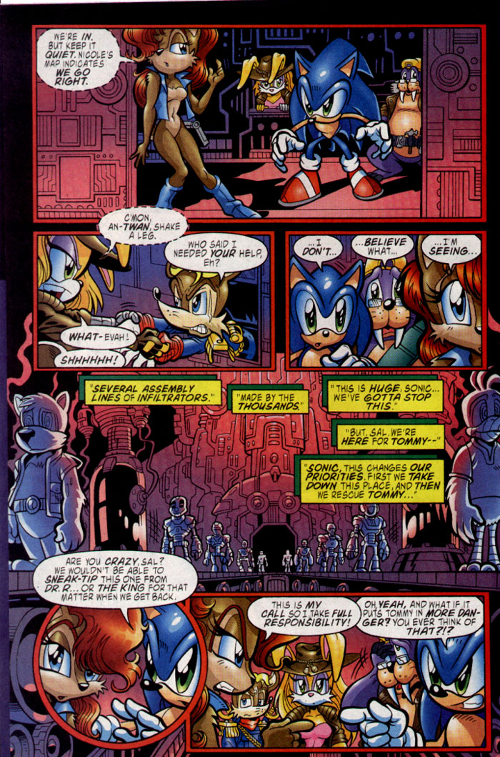 Read online Sonic The Hedgehog comic -  Issue #137 - 7