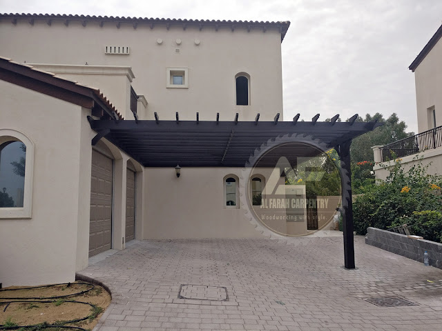 Project Done Car parking Pergola In Dubai