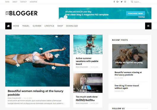 Gallery Blogger Templates: TheBlogger Responsive Blogger Template