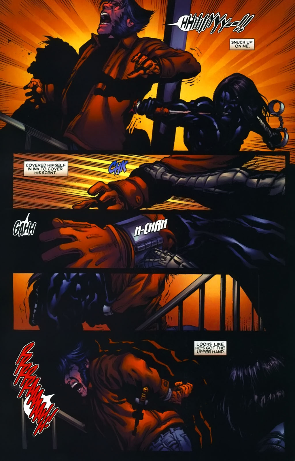 Read online Wolverine (2003) comic -  Issue #39 - 12