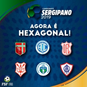 Sergipão 2019: FSF divulga tabela do Hexagonal