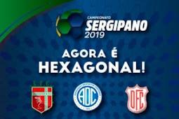 Sergipão 2019: FSF divulga tabela do Hexagonal