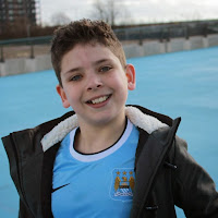 Young Manchester City Supporter
