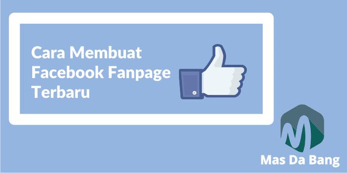 Cara Membuat FAN PAGE FACEBOOK Terbaru
