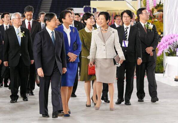 Emperor Naruhito, Empress Masako, Princess Takamado and Noriko Senge