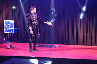 magician HASAN RIZVI performing at Tracon silver jubilee celebrations