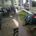 Wanita Maut, Motosikal Dirempuh Kereta Ketika Berteduh Di Bawah Jambatan