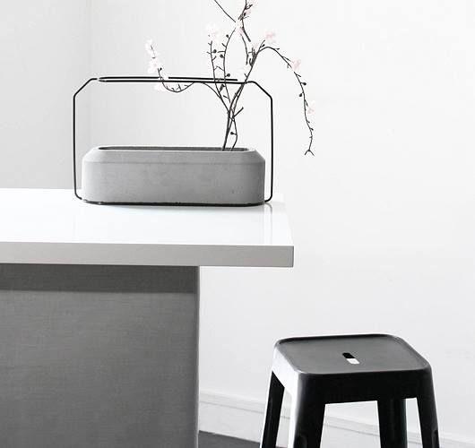 przedmioty z betonu