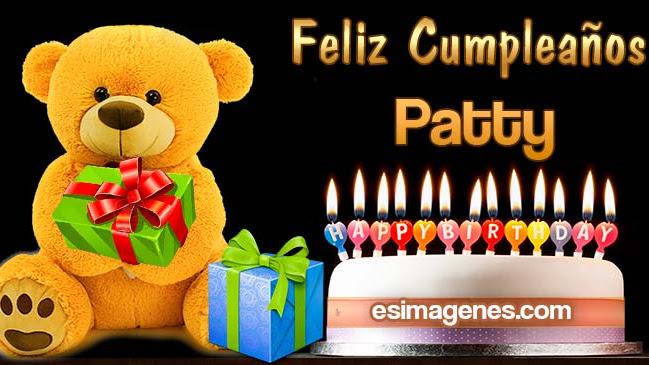 Feliz cumpleaños Patty