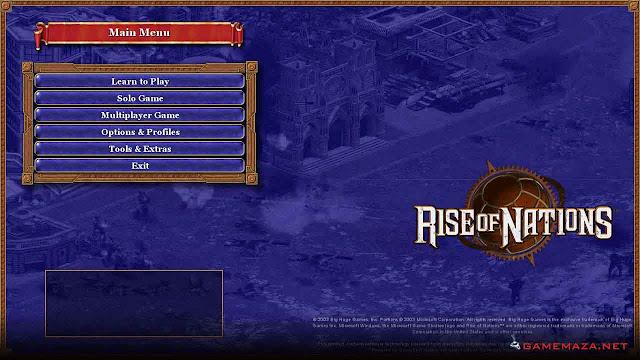 Rise of Nations Gameplay Screenshot 1