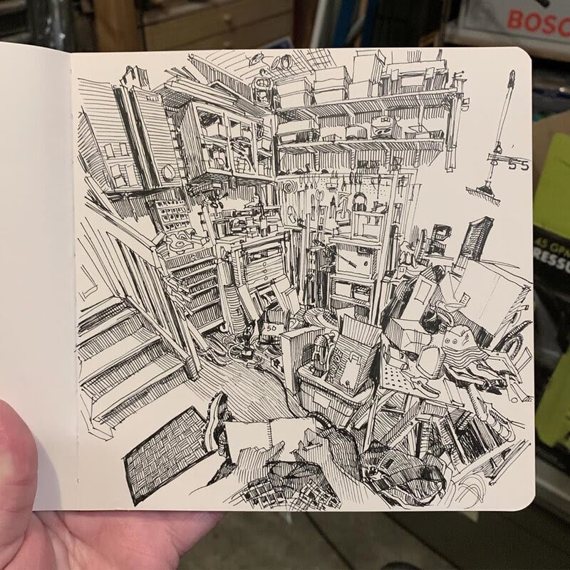 03-Paul-Heaston-Moleskine-Urban-Drawings-with-a-Point-of-View-www-designstack-co