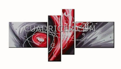 http://www.cuadricer.com/cuadros-pintados-a-mano-por-colores/cuadros-rojos-granates/cuadro-gris-rojo-moderno-1742.html