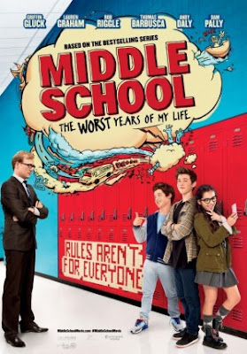 Trailer Film Middle School: The Worst Years of My Life 2017