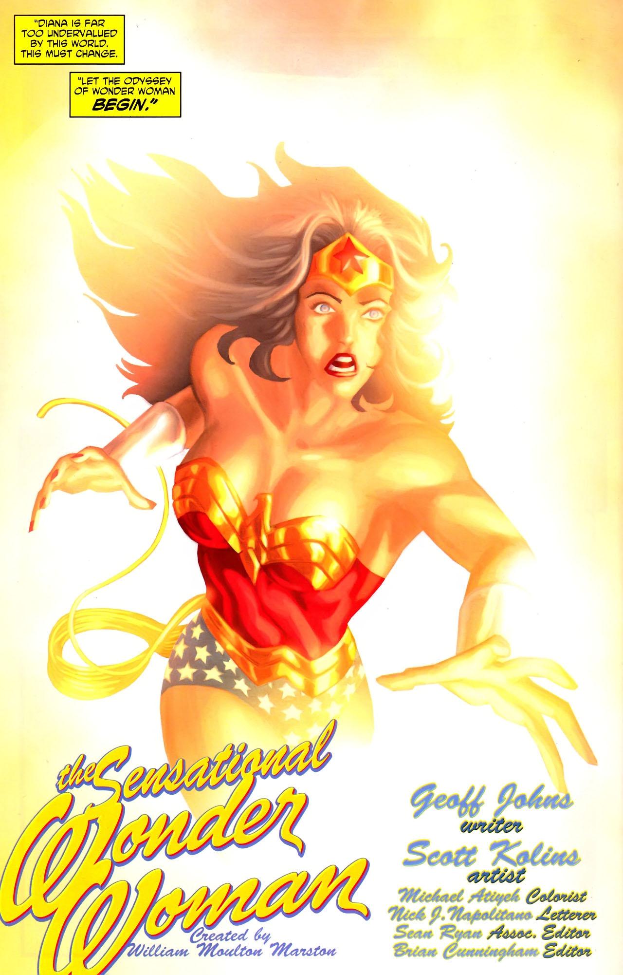Read online Wonder Woman (2006) comic -  Issue #600 - 35