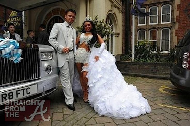 The Ugliest Wedding Dresses Ever Zabavnik