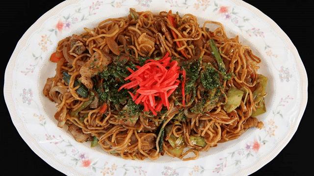 Yakisoba adalah mie goreng khas Jepang