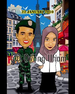 Karikatur Tentara dan Dokter