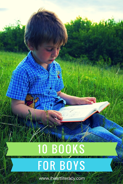 10 Books for Boys - Boys love these books!