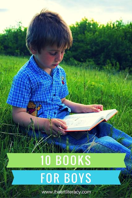 10 Books for Boys - Boys love these books!