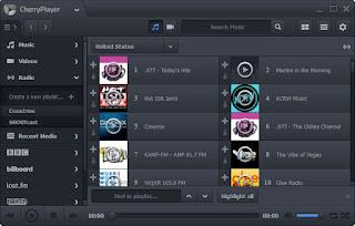 برنامج, متطور, لتشغيل, الفيديو, والصوت, والوسائط, المتعددة, CherryPlayer, أخر, إصدار