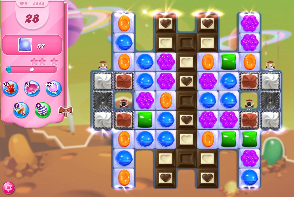 Candy Crush Saga level 4244