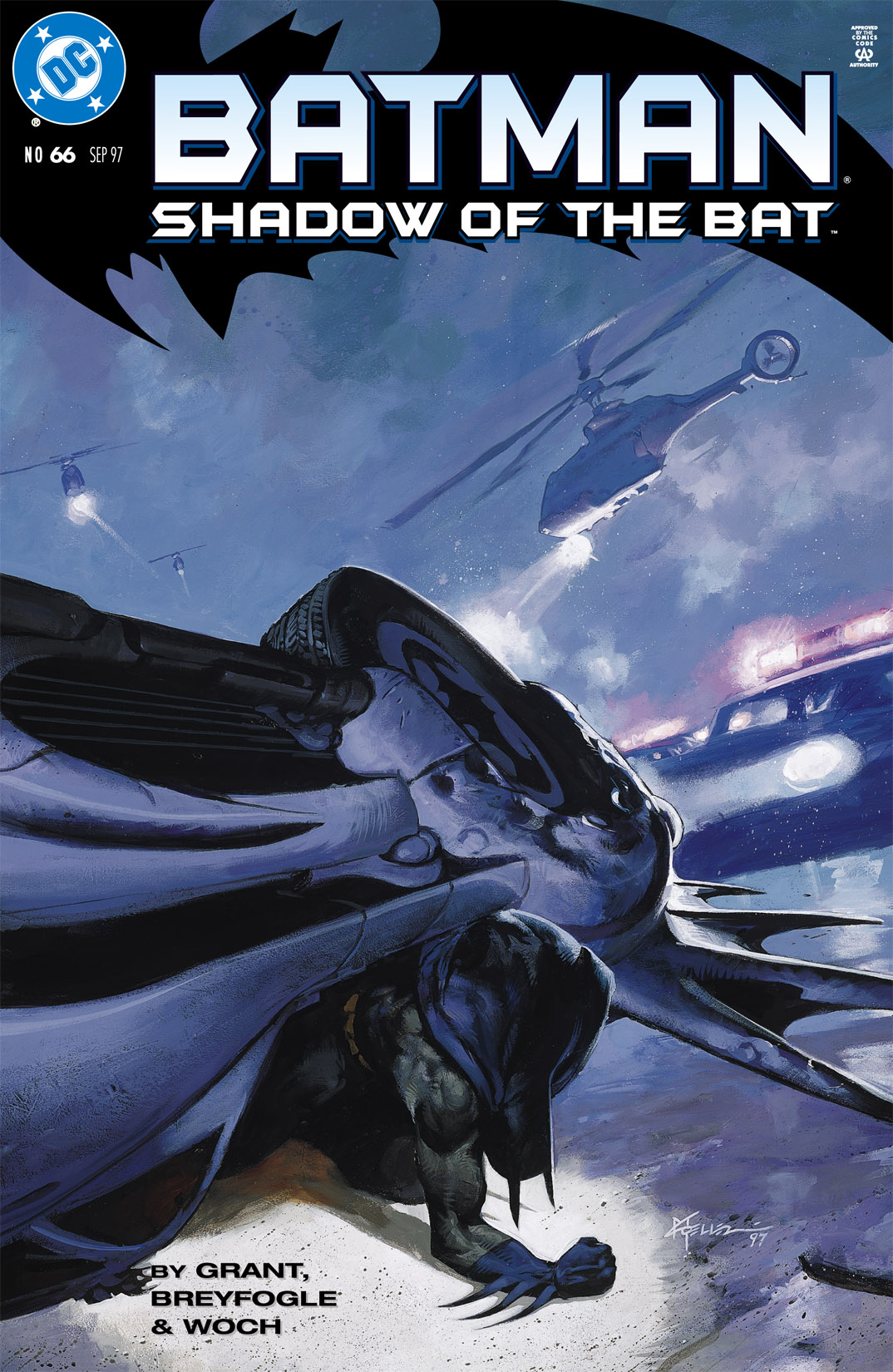 Batman: Shadow of the Bat 66 Page 1