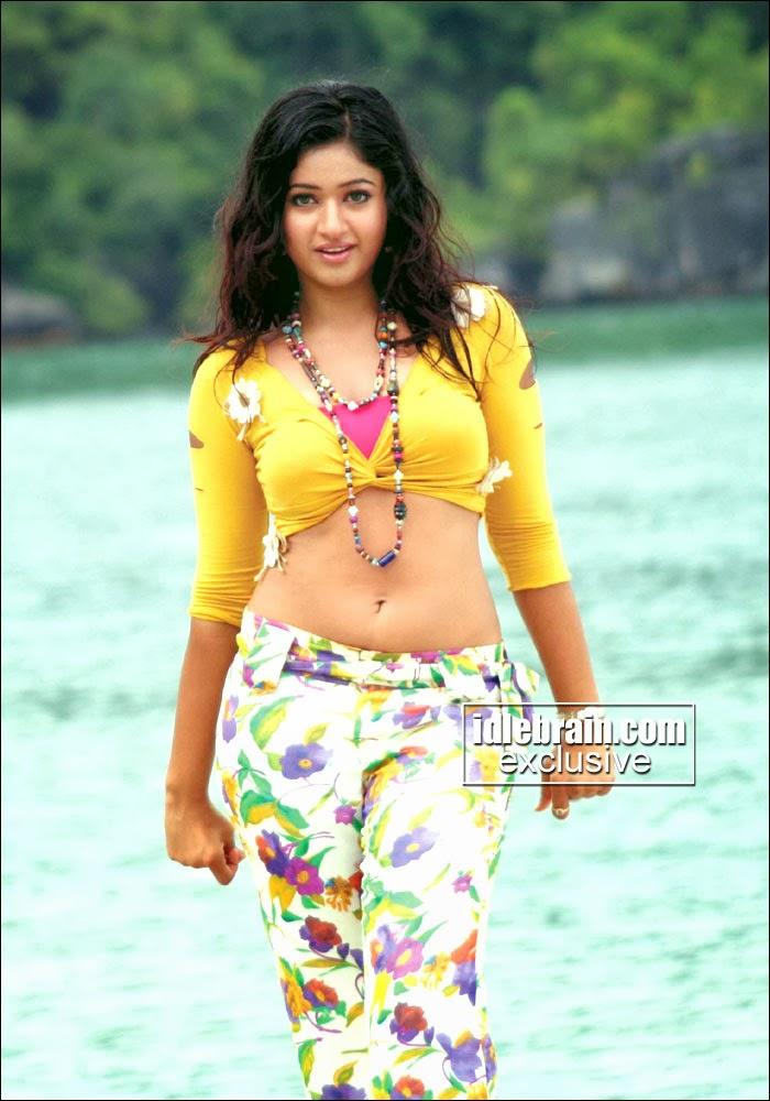 South Actress Hot Pics: Poonam Bajwa Navel Exposing Telugu