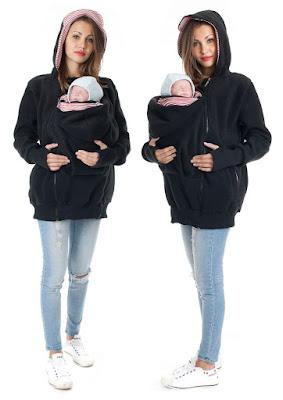 Sudadera, buzo o chompa muy ingeniosa para maternidad