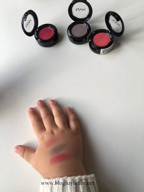nyx eyeshadow swatch