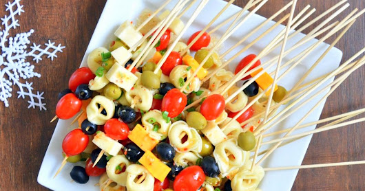 Cheese Tortellini Party Appetizers