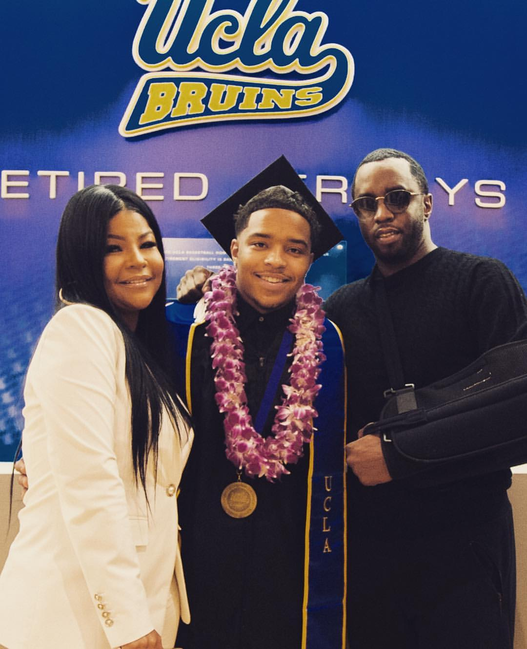 ody sblog first graduate of the combs rapper and mogul diddy s son justin combs has graduated from college he attended ucla on american football scholarship his proud dad real sea combs