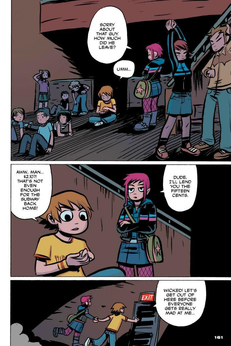 Read online Scott Pilgrim comic -  Issue #1 - 143
