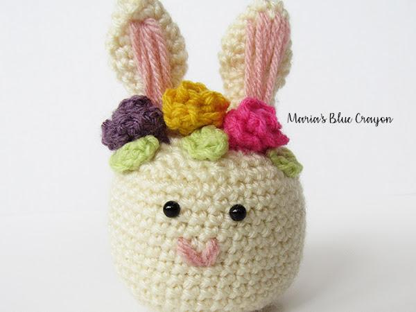Crochet Easter Bunny Shaker - Free Pattern